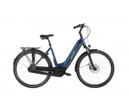 Ebike Das Original C007 Intube Active Plus (g3) / Powertube 400 Wh / , Ocean Drive (blue - Grey Silve