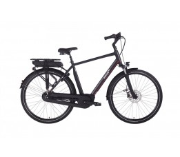 Ebike Das Original S009 Classic Active Plus (g3) / Powerpack 500 Wh /, Marrakech (black , Matte)
