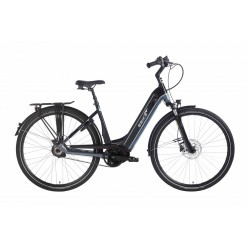 Ebike Das Original C004 + Intube Performance (g3) / Powertube 500 Wh , Route 66 (black - Blue Silver