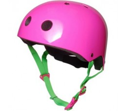 Kiddimoto Kiddimoto Helm Neon Pink Medium Neon Pink, Medium (53 - 58 Cm)