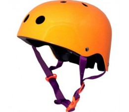 Kiddimoto Kiddimoto Helm Neon Orange Medium Oranje