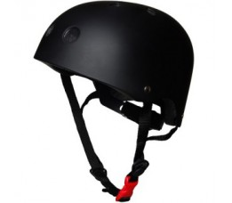 Kiddimoto Kiddimoto Helm Matte Black Small Matzwart
