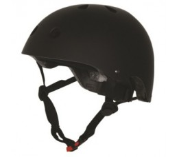 Kiddimoto Kiddimoto Helm Matte Black Medium Matzwart